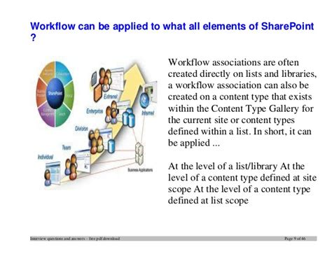 sharepoint workflow questions and answers top sharepoint questions and answers