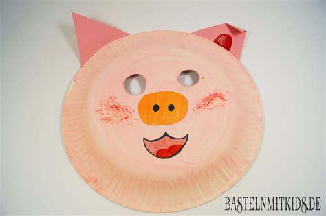 Masken Basteln Kindergarten by Maske Selber Machen Zum Fasching Im Kindergarten