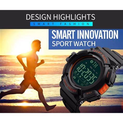 Skmei Jam Tangan Olahraga Smartwatch Bluetooth Dg1245 Bl skmei jam tangan olahraga smartwatch bluetooth dg1245 bl black blue jakartanotebook