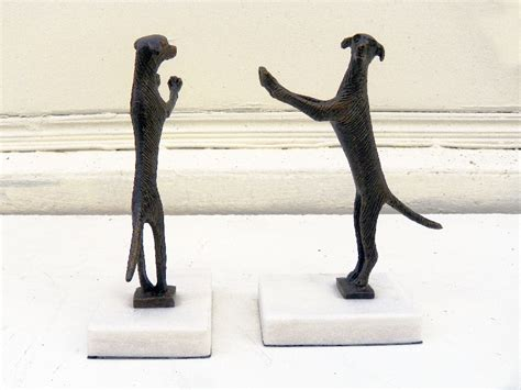 golden retriever bookends pair of standing golden retriever bookends mecox gardens