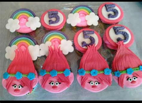 trolls cupcakes 2347 best images about trolls themed birthday craft