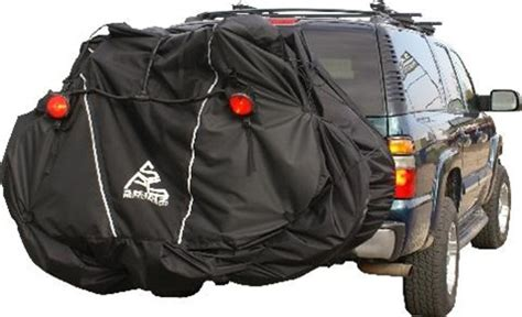 Bike Rack Covers by Skinz Rear Rack Transport Cover With Light Kit 3 4 Bikes
