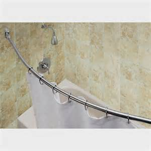 bathroom bliss by rotator rod curved shower curtain rods