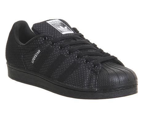 Sepatu Adidas Superstar Black White Unisex 37 44 adidas superstar 2 black white weave pack unisex sportschuhe