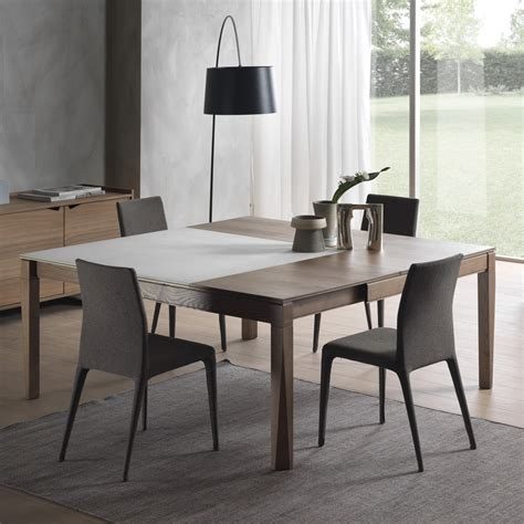 tavolo quadrato allungabile legno tavolo allungabile e allargabile plurimo arredaclick
