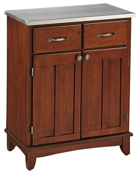 houzz sideboards buffet in cherry finish contemporary buffets and