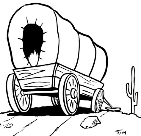 S Drawing Origin by Covered Wagon Image