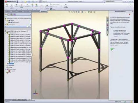 frame design in solidworks design a better frame with solidworks simulation youtube
