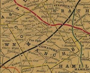 comanche county map comanche county tx map from 1908 history comanche in