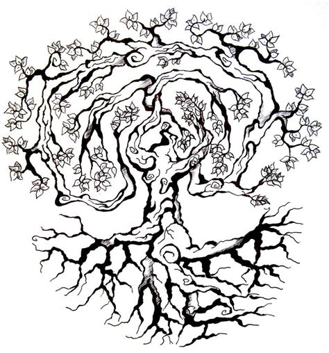 world tree tattoo designs tree by saarsel on deviantart