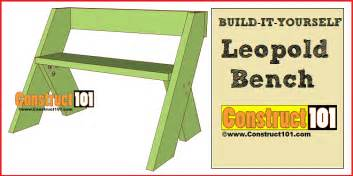 Bench Planter Plans Leopold Bench Plans Pdf Download Construct101