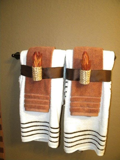 decorative bath towel arrangements best 25 bathroom towel display ideas on pinterest towel