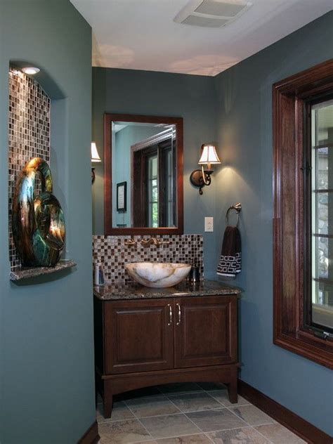 decoration chic deep blue wall paint color traditional