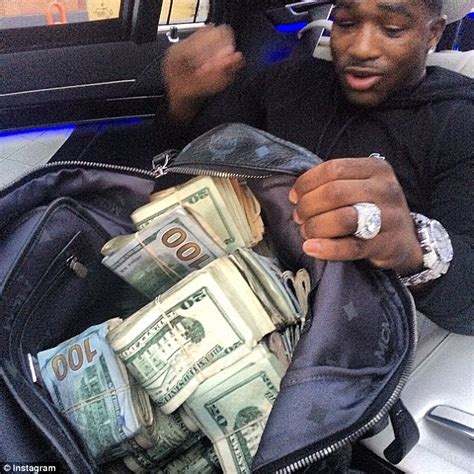 floyd mayweather money bag adrien broner now earns 10k a night to show up at parties