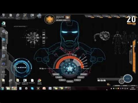 jarvis theme for windows 7 rainmeter how to install the jarvis iron man theme on windows 7