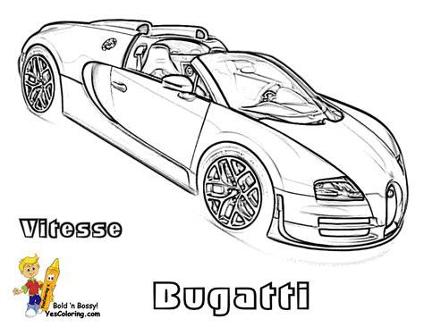 Super Fast Cars Coloring Fast Cars Free Bugatti Bugatti Coloring Pages