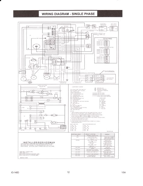 wiring diagram for ruud ac unit k