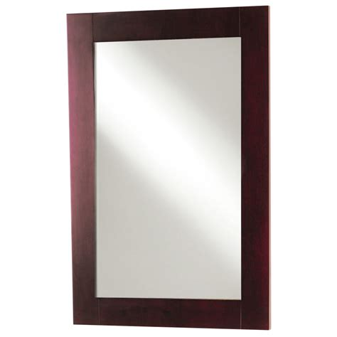 Lowes Mirrors For Bathroom Shop Magick Woods Bathroom Mirror At Lowes