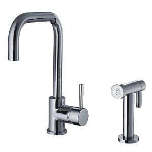 Jem Plumbing And Heating by Whitehaus Collection Jem Collection Single Handle Side