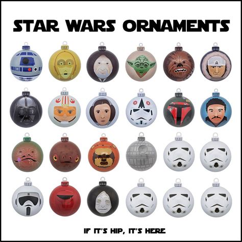 printable star wars christmas decorations artistic star wars christmas ornaments if it s hip it s