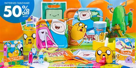 adventure time printable party decorations 301 moved permanently