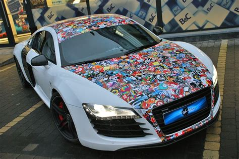 Auto Sticker Bomb by Stickerbomb Pack 1 My Custom Hot Wheels Decals