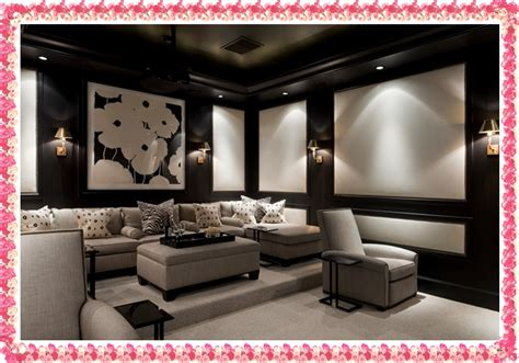 ideas the home theater decor 2016 home theater wall