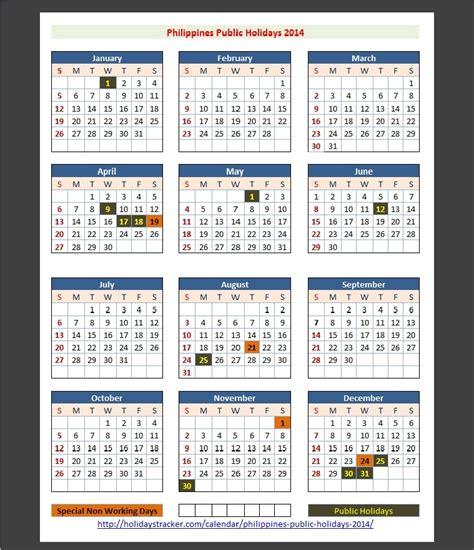 printable calendar 2014 with philippine holidays search results for philippines 2014 holiday calendar