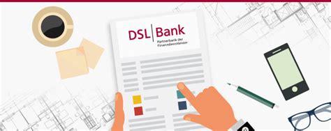 postbank dsl bank dsl bank im check das baufinanzierungs angebot