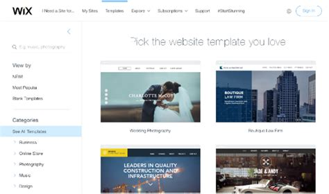 Wix Review From Web Builders Expert Real Users Wix Website Templates Reviews