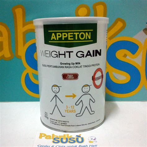 Appeton Weight Gain Umur 16 appeton weight gain child 450g pabrik detil toko