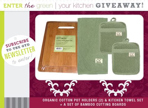 Kitchen Giveaway Contests - new contest green your kitchen giveaway