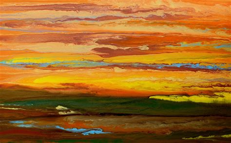 contemporary landscape paintings