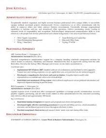 administrative assistant resume skills writing resume