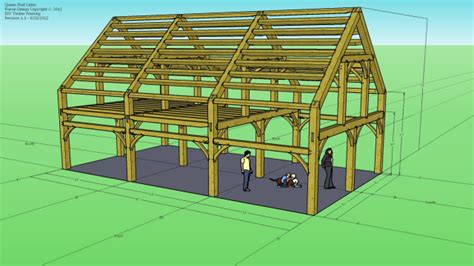timber frame design using google sketchup download image gallery sketchup framing