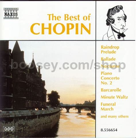 best of chopin frederic chopin best of chopin naxos audio cd