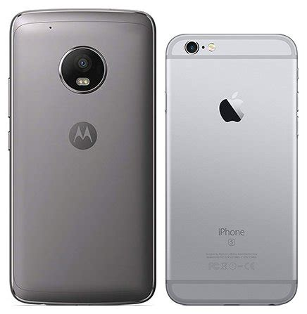 compare smartphones motorola moto g5 plus vs apple iphone 6s cameracreativ
