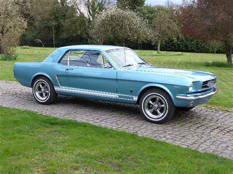 Ford 2016 Notchback by 1965 Ford Mustang 289 Notchback