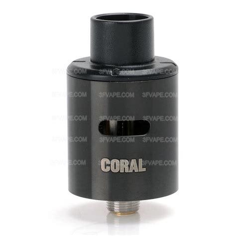 Eleaf Coral Rda 22 Atomizer Authentic authentic eleaf coral rda black rebuildable atomizer w bottom feeder