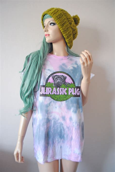 tie dye pug shirt jurassic pug tie dye t shirt