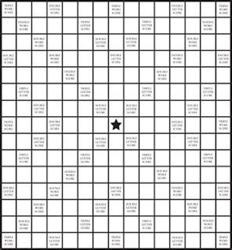 fill in scrabble board printable scrabble board for vocabulary teaching
