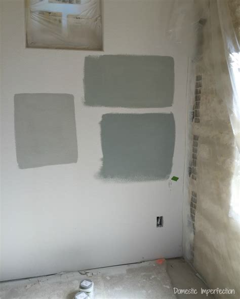 choosing interior paint colors domestic imperfection