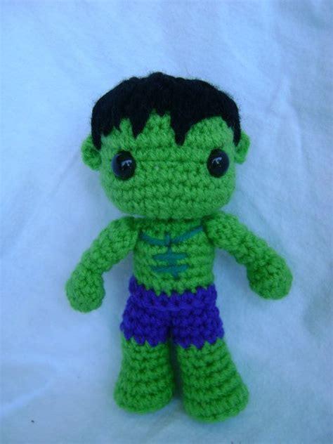 amigurumi hulk pattern the hulk crochet doll etsy shop pinterest crochet