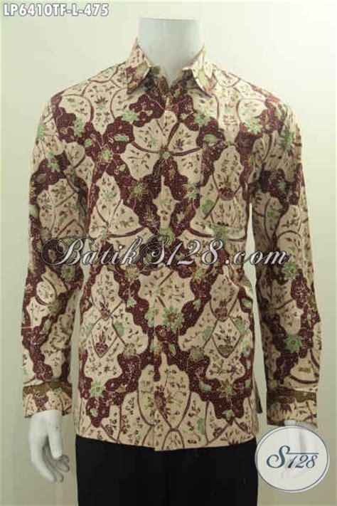 Baju Kemeja Panjang Mix Motif Batik Cowok Pria Laki Laki baju kemeja batik pria dewasa hem batik halus proses tulis motif biruan khas cirebon