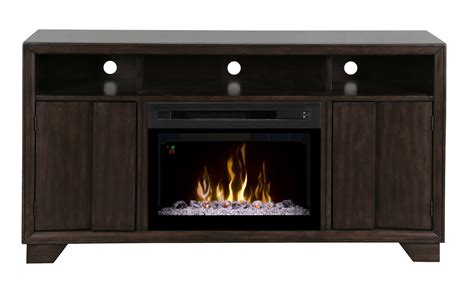 electric fireplace media cabinet dimplex bayne media console electric fireplace gds25gd