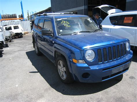 2010 Jeep Parts Jeep Wreckers Patriot 2010 Central Parts Perth