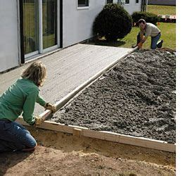 how to lay a diy concrete patio best i - How To Lay A Concrete Patio