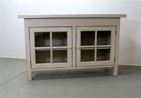 Reclaimed Wood Media Cabinet With Glass Doors Media Storage Cabinet With Glass Doors