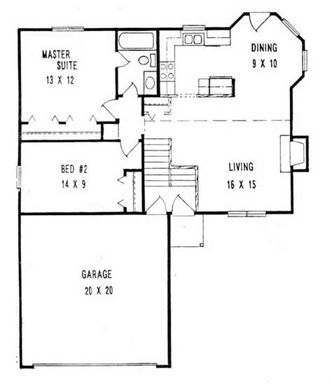 multi level home floor plans multi level home with 2 bdrms 900 sq ft floor plan 103