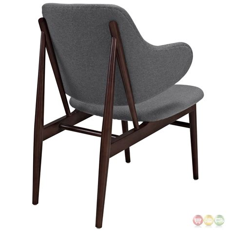 Cherry Wood Chairs by Cherish Modern Cherry Wood Lounge Chair W Upholstered
